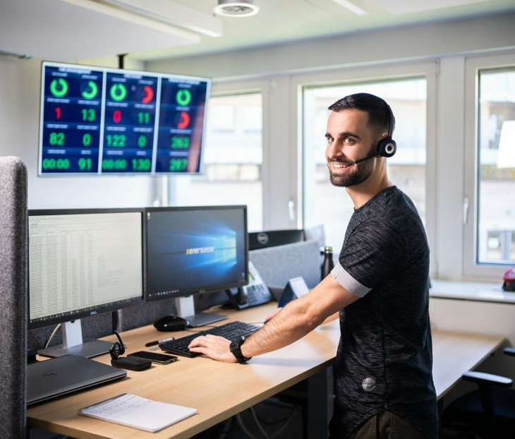 Bild von Contact Center